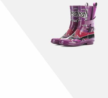 брендовая резиновая обувь